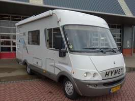 autocaravan Hymer B 584  2.8D 128PK Intergraalcamper Airco in perfecte staat 2004