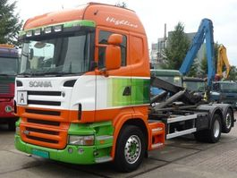 container truck Scania R 420 6x2 Highliner Hooklift 2006