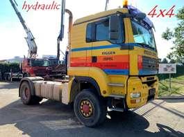 heavy duty tractorhead MAN TGA 18.480 - 4x4 - PTO HYDRAULIC - AS TRONIC - 2X HUB REDUCTION - VERY N... 2007