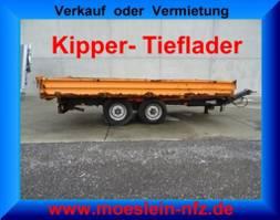 camião basculante > 7.5 t Müller-Mitteltal -  Tandemkipper- Tieflader 2013