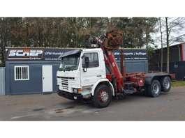 samochód do przewozu kontenerów Scania 93-280 - 6x2 - Penz Crane + Multilift 1994