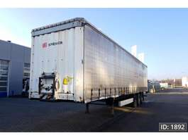 sliding curtain semi trailer Krone SD 2009