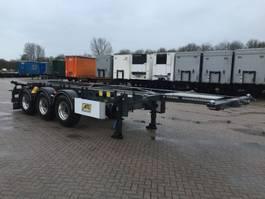 chassis semi trailer Van Hool Tankchassis 20ft / 30ft ADR met certificaat 2017
