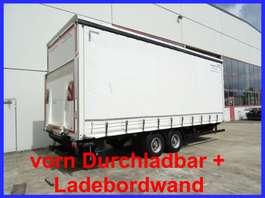 tilt trailer Möslein TPS 105 D-L  Tandem- SchiebeplanenanhängerDurchladbar + Ladebordwand-- Neu 2016