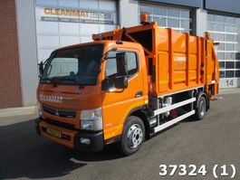 garbage truck Fuso Canter 9C18 2017