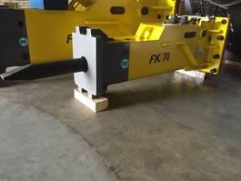 crusher and hammer attachment HYDRARAM FX-70 | 410KG | 6 ~ 9 ton | Hammer | Sloophamer 2018