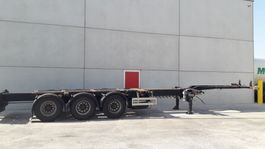 container chassis semi trailer Pacton Multifunctioneel chassis