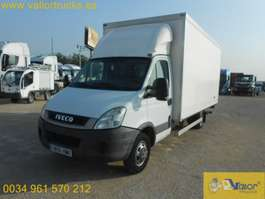 closed box truck Iveco 50C15 2012