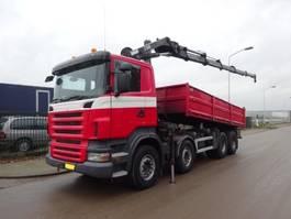 tipper truck > 7.5 t Scania R 420 8 X 4 HIAB 288FP - 5 HIPRO 2007