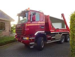 camion portacontainer Scania G 450 2013