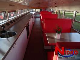 inne autobusy International BLUE BIRD - SCHOOLBUS - FOODTRUCK 1995
