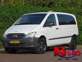 closed lcv Mercedes Benz VITO 113 CDi AUT LMV GLASLOOK 4x4 77.000 km! 2014