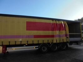 sliding curtain semi trailer Van Hool BPW Trommel Borden 2008