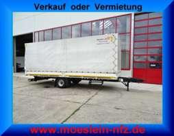 tilt trailer Möslein EPT 1A Schwebheim  1 Achs Planenanhänger 2013