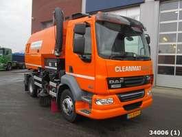 Road sweeper truck DAF FA 55 LF 220 Euro 5 EEV 2014