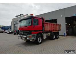 camion a cassone ribaltabile Mercedes Benz Actros 3348 Day Cab, Euro 3, - Full steel / Big axles /Manual gearbox- 2000
