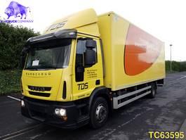 closed box truck > 7.5 t Iveco EuroCargo 120 E22 Euro 5 2014