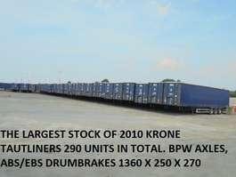 sliding curtain semi trailer Krone TUX XXL APK TOT 2020 2010