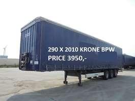 sliding curtain semi trailer Krone SD TUV XXL 2010