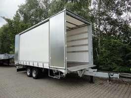 tilt trailer Möslein TPF 105 D 7,30  Tandem- Schiebeplanenanhänger zum DurchladenLadungssicheru 2019