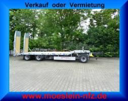 semirimorchio ribassato Möslein T 3-6,50 VB F  3 Achs Tieflader- Anhänger, NeufahrzeugFeuerverzinkt 2020
