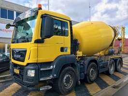 concrete mixer truck MAN TGS 37.360 8x4 EURO6 10m3 mixer 2016