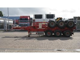 container chassis semi trailer Kaessbohrer 3 AXLE CONTAINER TRAILER 1990