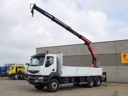 crane truck Renault KERAX 370 DXI  6X4 2008