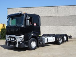 chassis cab truck Renault T 460  6X2 2015