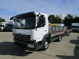 vcl inclinable Mercedes Benz ATEGO 823 L PRITSCHE 4 m Holztransporte NL 3 T 2016