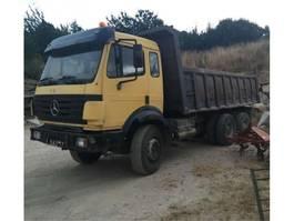 tipper truck > 7.5 t Mercedes Benz 2435 Full steel suspension 1992