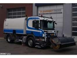 Road sweeper truck Scania P 270 Brock 7m3 2009