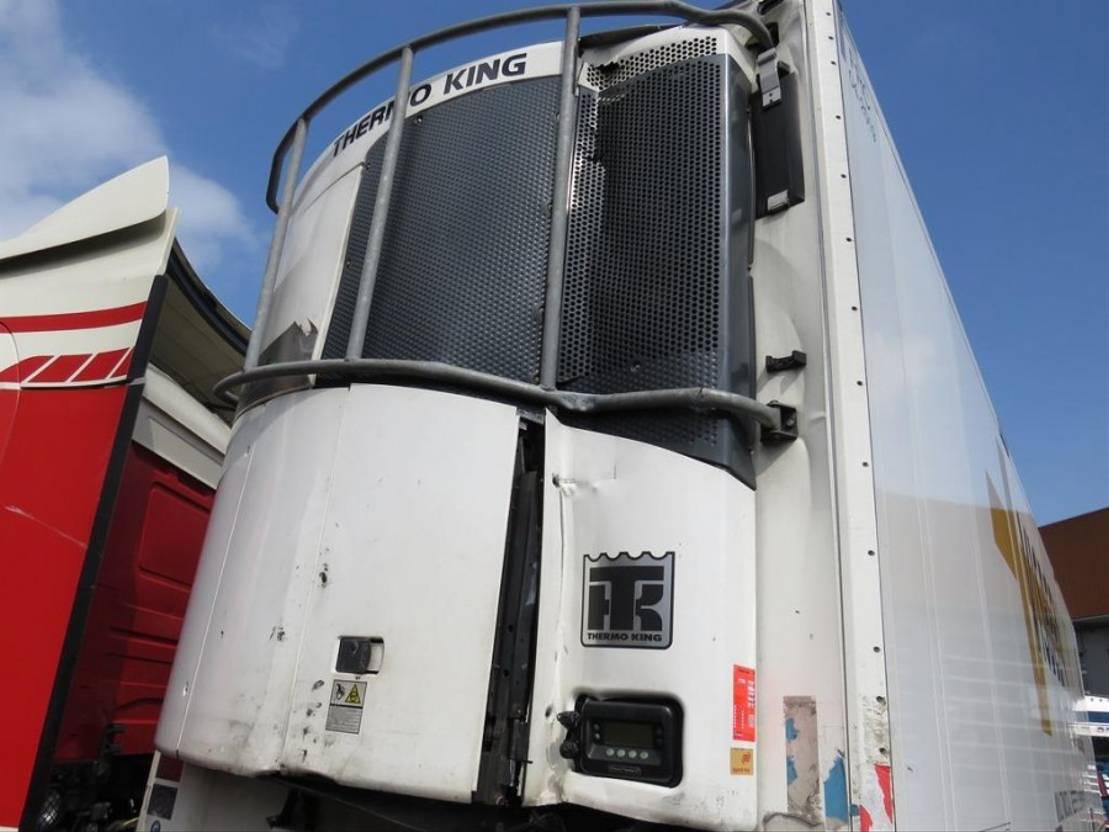 semi-remorque réfrigérée Schmitz Cargobull Kuhlauflieger mit Thermoking 2013
