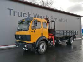 tipper truck > 7.5 t Mercedes Benz 1831 - Crane + Tipper - Full Steel 1994