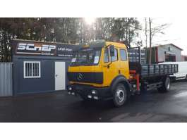 tipper truck Mercedes Benz 1831 - Crane + Tipper - Full Steel 1994