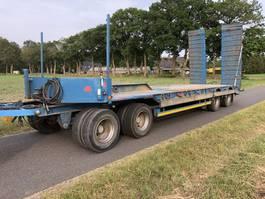 semi lowloader trailer Kaiser 4as bladvering 1998