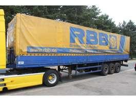 tilt semi trailer Bunge 3-essieux LAMES - BACHER + RIDELLES / STEEL SPRING - ALU SIDEBOARDS 1992