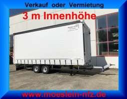 tilt trailer Möslein TP 11-3  Tandem- Schiebeplanenanhänger 3 m Innenhöhe-- Fahrgestell und Au 2019