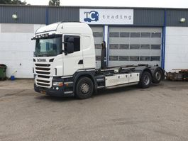 container truck Scania R 500 6x2 haakarm 2010