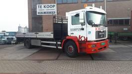 drop side truck MAN 18.220 M39 open laadbak 2001