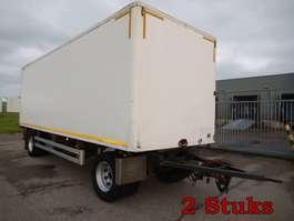 closed box trailer Pacton WY-77-SK & Floor WP-90-LG 2 As Vrachtwagen Aanhangwagen Gesloten, 2 Stuks