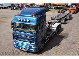 closed box truck DAF XF460 6X2 Terberg Hooklift 25T / MOT: 03-01-2020 2009