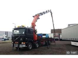 crane truck Volvo F12 Day Cab, Euro 1, Palfinger PK 66000 D 1990