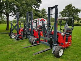 truck mounted forklift Moffet M4 25.4 Nx Pro Future Stage5 2019