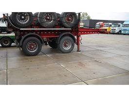 container chassis semi trailer Kaessbohrer 2 AXLE 20FT CONTAINER TRANSPORT 1979