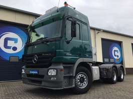 heavy duty tractorhead Mercedes Benz Actros 2646 LS  6x4  - Hydraulic kipper unit   NL-Truck!! LOW-Mileage 2008