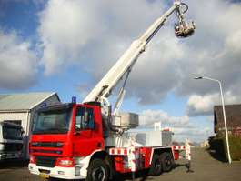 mounted boom lift truck DAF 75-310 2003
