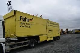 closed box semi trailer Schmitz Cargobull Edelhoff AS-T / Ladungssiche / hydr Klappe / ADR 1993