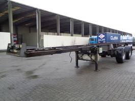 chassis semi trailer Burg BPDO 12-20 SZLS 1995