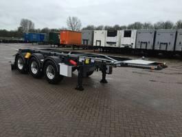 chassis semi trailer Van Hool Tankchassis 20ft ADR met certificaat 2017